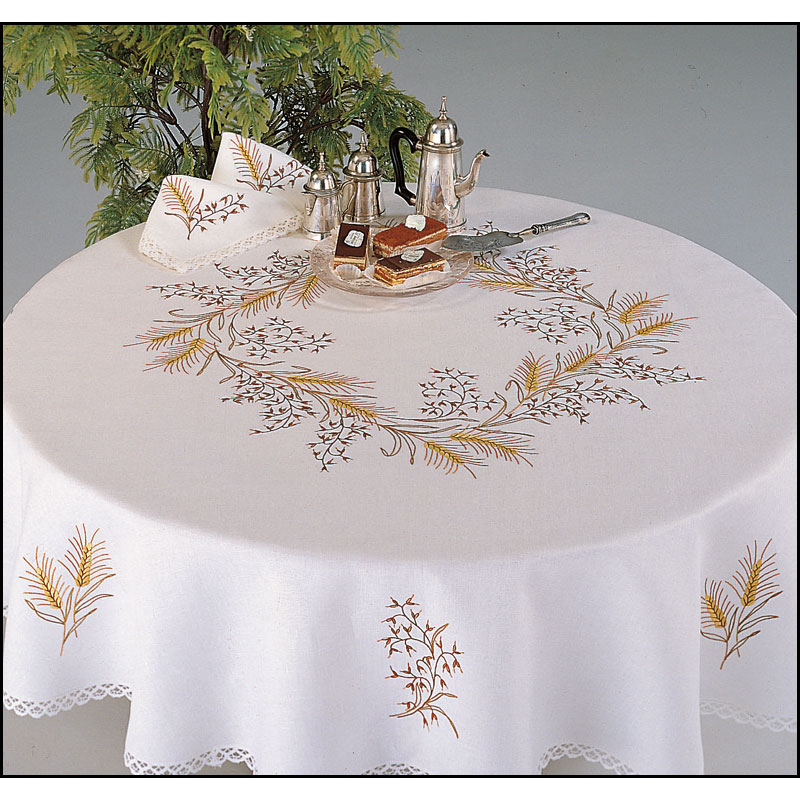 Nappe de table Brodée