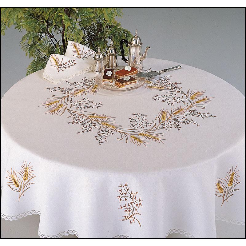 Nappe de table Brodée
