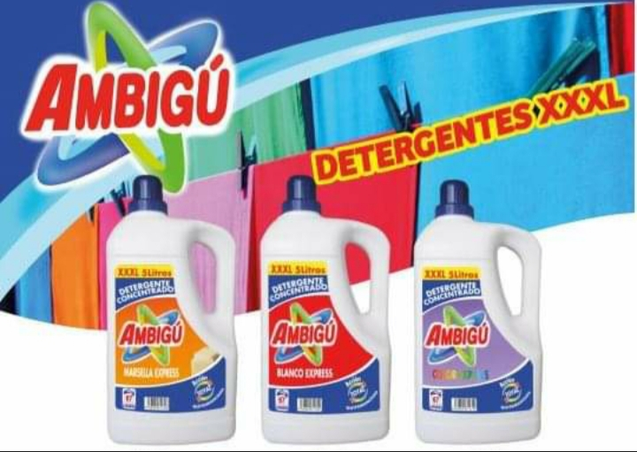 Pack de 3 Détergents (Made in Spain)
